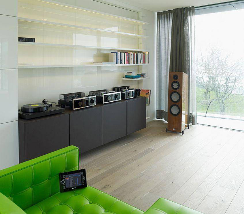 Audio Vinyl für multimediale Haus- und Soundtechnik