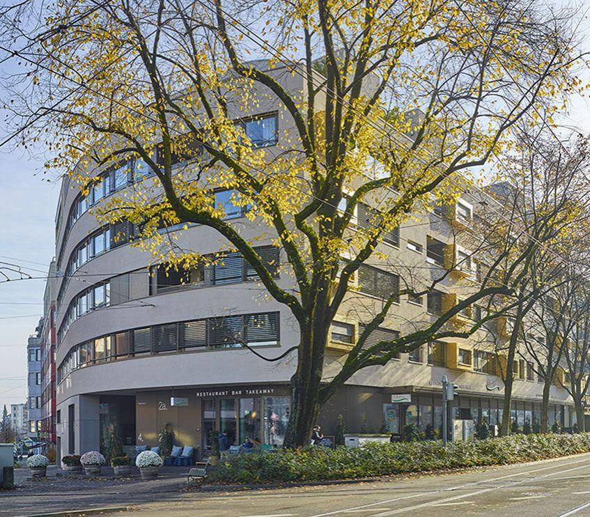 Überbauung Tramstrasse Zürich